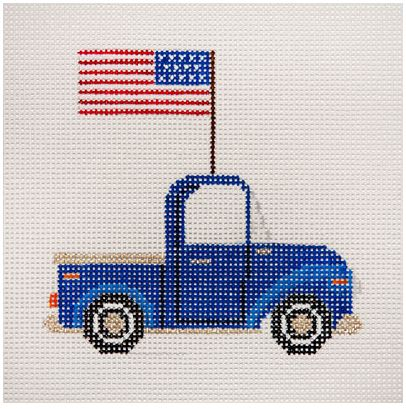 click here to view larger image of Made in the USA Pick-up Truck (hand painted canvases)