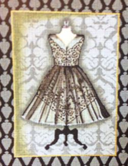 click here to view larger image of Cocktail Dress (hand painted canvases)
