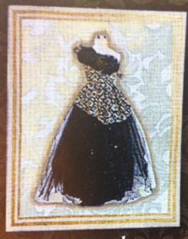 click here to view larger image of Formal Gown (hand painted canvases)