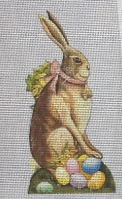 click here to view larger image of Penelope Rabbit Standup (hand painted canvases)