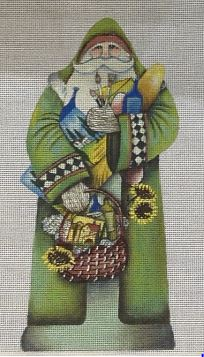 click here to view larger image of Tuscan Santa (hand painted canvases)