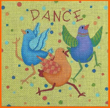 click here to view larger image of Dance (hand painted canvases)