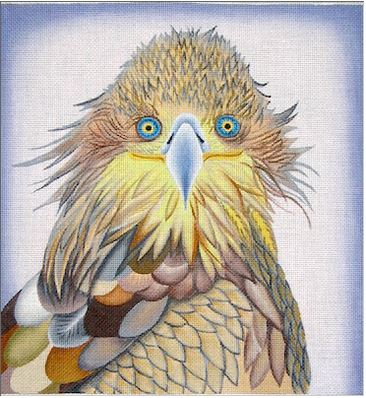 click here to view larger image of Hawk - 18ct (hand painted canvases)