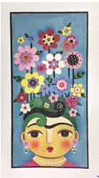 click here to view larger image of Senorita Primavera (hand painted canvases)