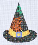 click here to view larger image of Cobwebs Hat (hand painted canvases)