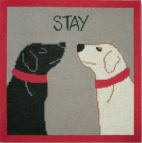 click here to view larger image of Stay (hand painted canvases)