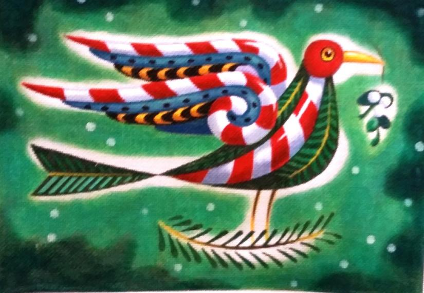 click here to view larger image of Bird (hand painted canvases)