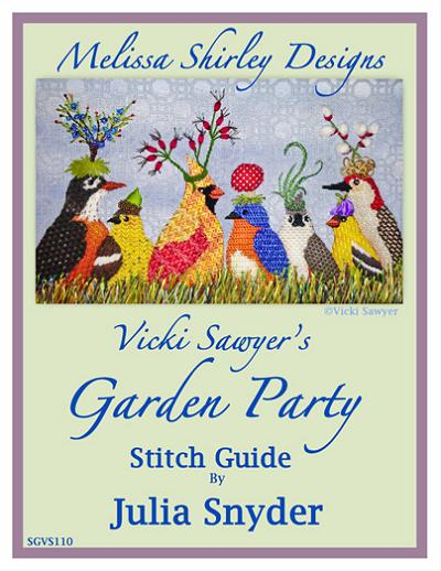 click here to view larger image of Garden Party - Stitch Guide (books)