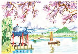 click here to view larger image of China Scene (hand painted canvases)