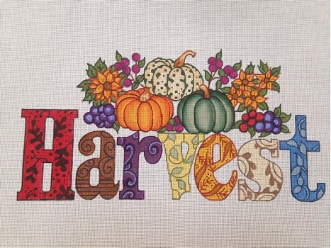 click here to view larger image of Harvest (hand painted canvases)