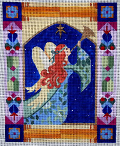 click here to view larger image of Herald Angel (hand painted canvases)