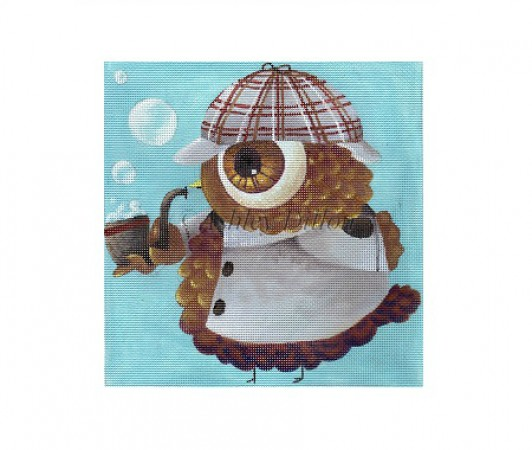 click here to view larger image of Sherlock Owl (hand painted canvases)