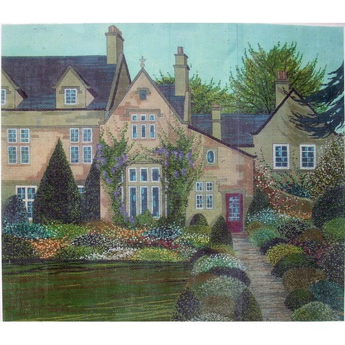 click here to view larger image of English Garden (hand painted canvases)