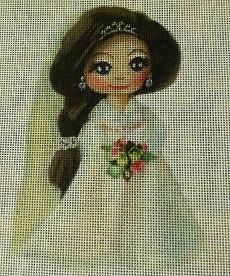 click here to view larger image of Bride (hand painted canvases)
