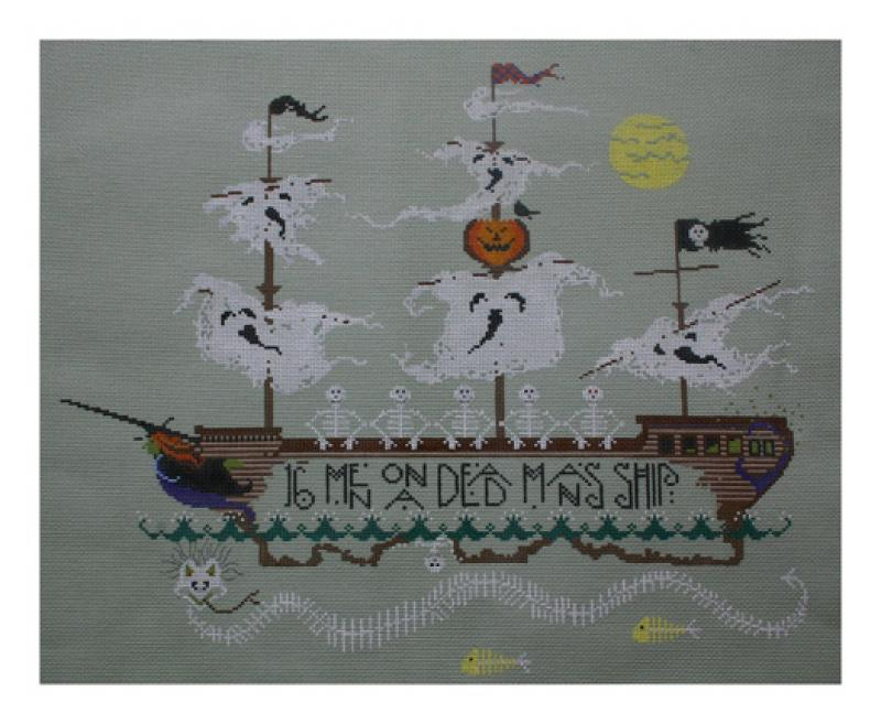 click here to view larger image of Skeleton Crew (hand painted canvases)