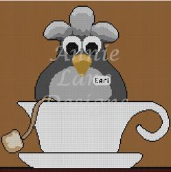 click here to view larger image of Earl Gray (hand painted canvases)