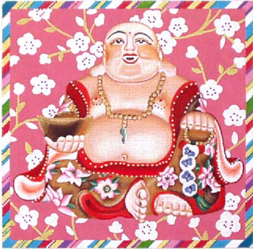 click here to view larger image of Laughing Buddha (hand painted canvases)