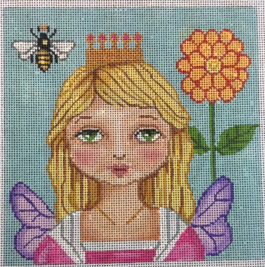 click here to view larger image of Queen Bee (hand painted canvases)