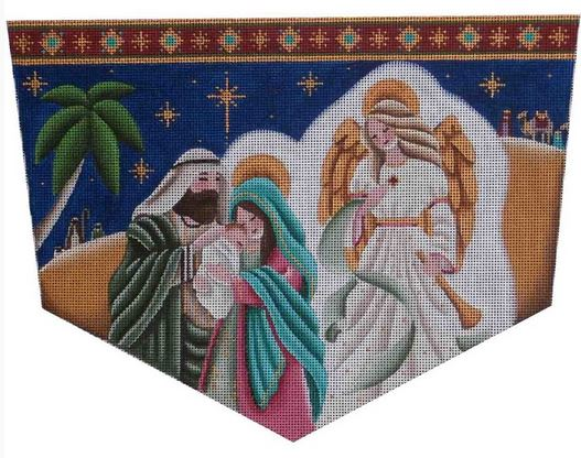 click here to view larger image of Holy Family Cuff (hand painted canvases)