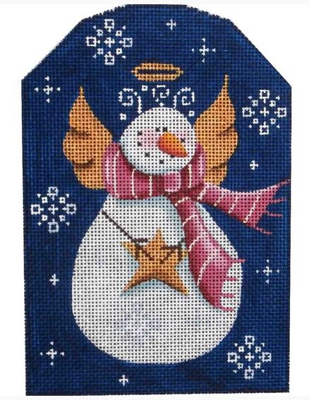 click here to view larger image of Snow Angel (hand painted canvases)