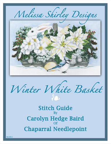click here to view larger image of Winter White Basket Stitch Guide (books)