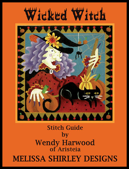 click here to view larger image of Wicked Witch of the West Stitch Guide (books)