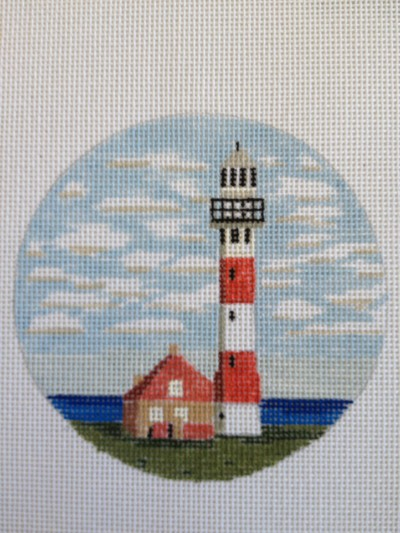 click here to view larger image of Belgium Lighthouse (hand painted canvases)