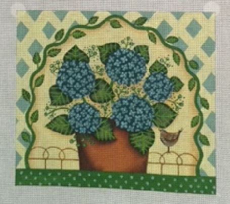 click here to view larger image of Hydrangea Tree (hand painted canvases)
