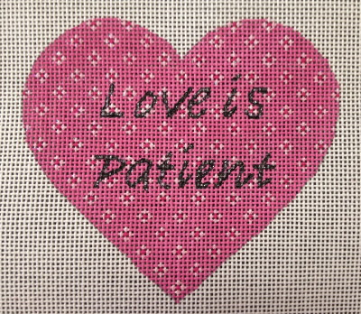 click here to view larger image of Love Is Patient (hand painted canvases)