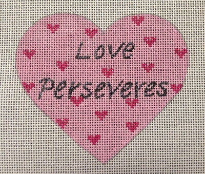 click here to view larger image of Love Perseveres (hand painted canvases)