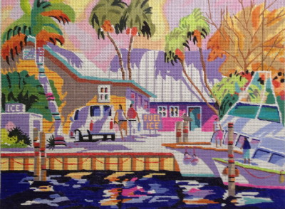 click here to view larger image of Key West Cruising (hand painted canvases)