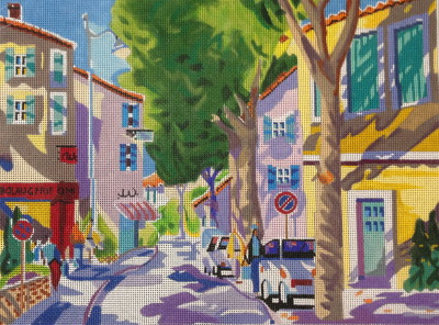 click here to view larger image of St Remy, France (hand painted canvases)