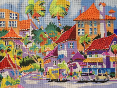 click here to view larger image of Tourist Season 2 (hand painted canvases)