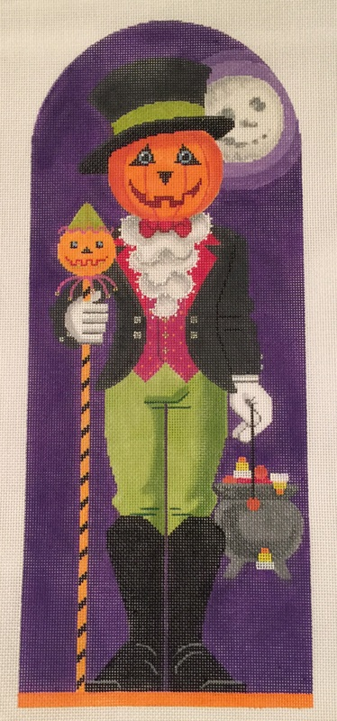 click here to view larger image of Jack O'Lantern (18ct) (hand painted canvases)