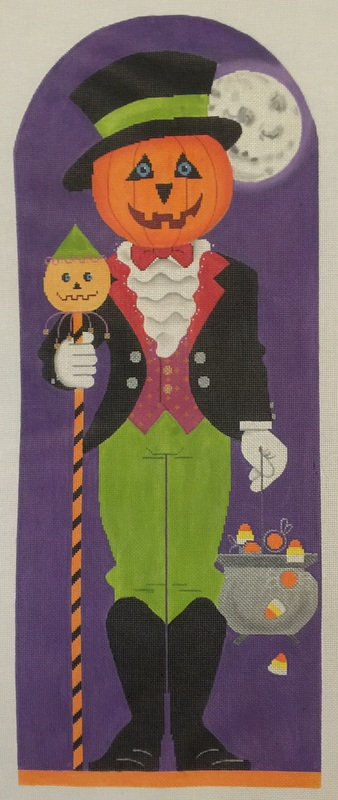 click here to view larger image of Jack O'Lantern (13ct) (hand painted canvases)
