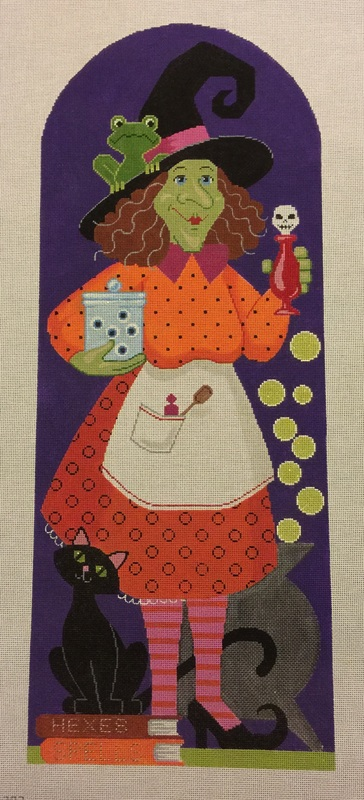 click here to view larger image of Bea Witch (13ct) (hand painted canvases)
