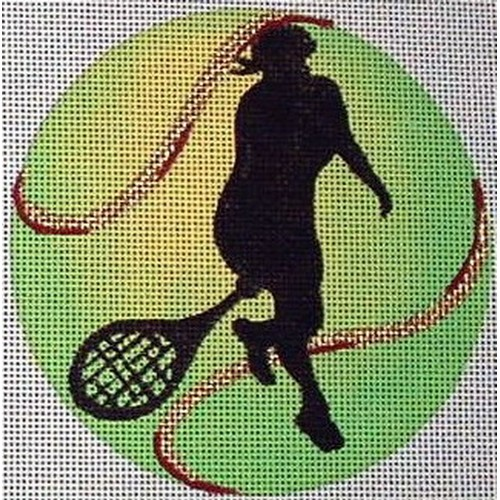 click here to view larger image of Female Tennis Player (hand painted canvases)