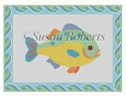 click here to view larger image of Fish 1 (hand painted canvases)