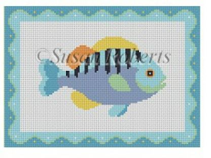 click here to view larger image of Fish 2 (hand painted canvases)