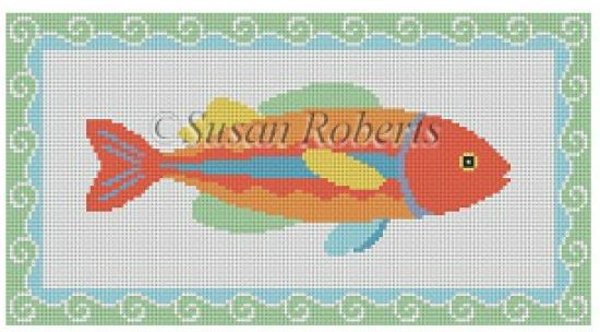 click here to view larger image of Fish 3 (hand painted canvases)
