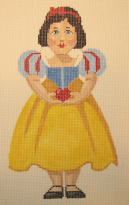 click here to view larger image of Snow White (hand painted canvases)