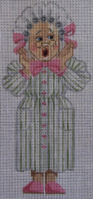 click here to view larger image of Grandma (hand painted canvases)