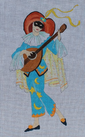 click here to view larger image of Troubadour (hand painted canvases)
