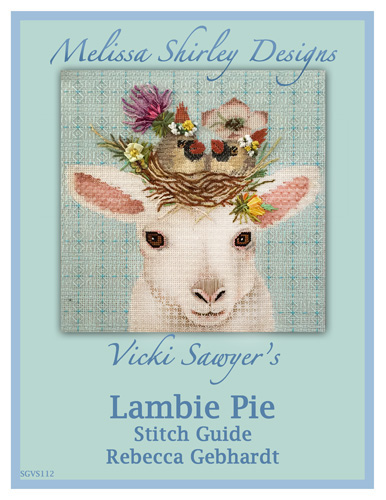 click here to view larger image of Lambie Pie Stitch Guide (books)