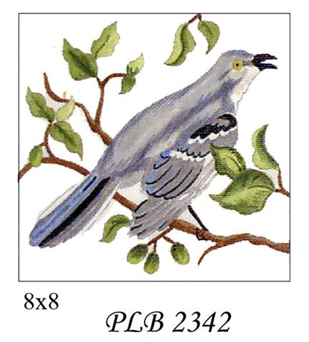 click here to view larger image of Mockingbird (13ct) (hand painted canvases)