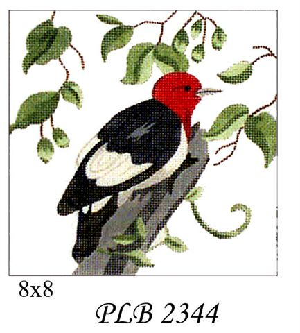 click here to view larger image of Woodpecker (18ct) (hand painted canvases)