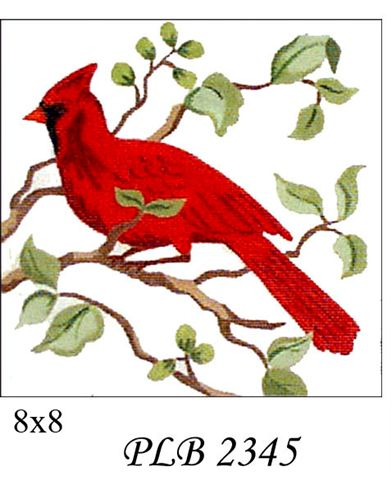 click here to view larger image of Cardinal (18ct) (hand painted canvases)