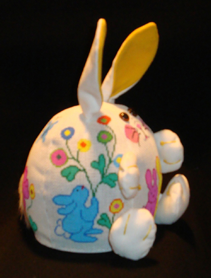 click here to view larger image of PUDGIE Bunny (hand painted canvases)