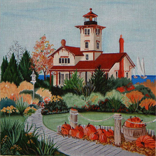 click here to view larger image of Hereford Head Lighthouse (hand painted canvases)