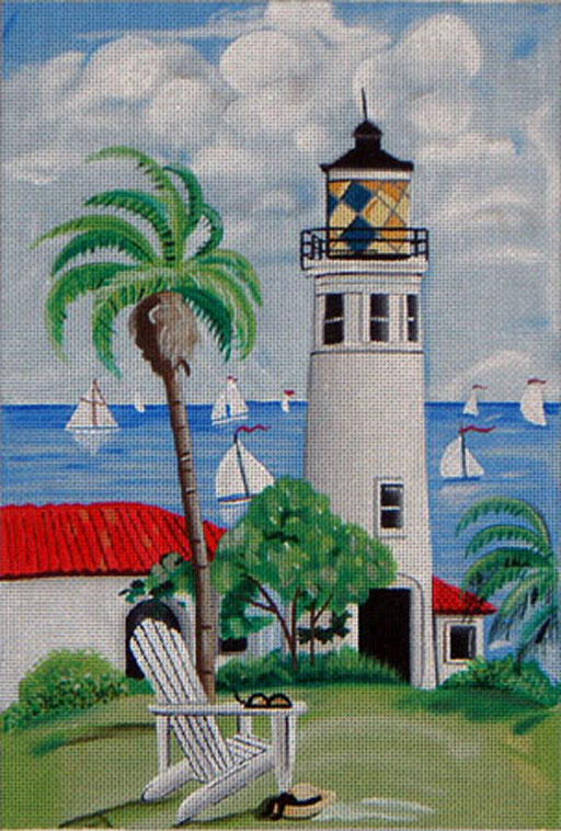 click here to view larger image of Point Vincent Lighthouse (hand painted canvases)